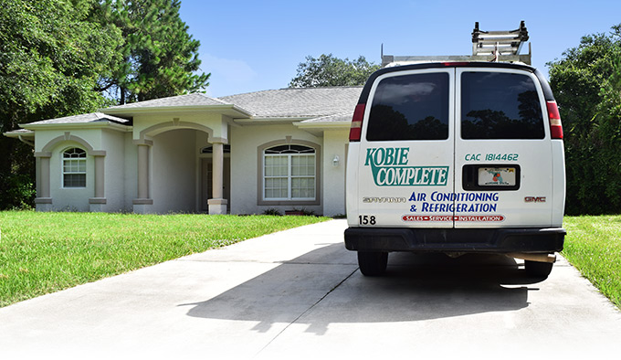 A/C Repair Service Vehicle in Venice, FL