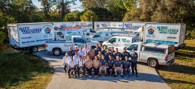 The Kobie Complete Punta Gorda AC Repair and Plumbing Team