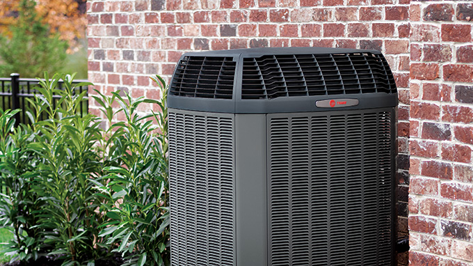Trane Heat Pump Installation