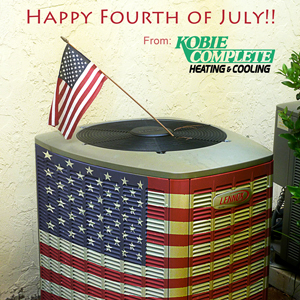 Happy 4th of July Air Conditioner