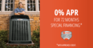 0% APR for 72 Months Special Financing with Credit Approval
