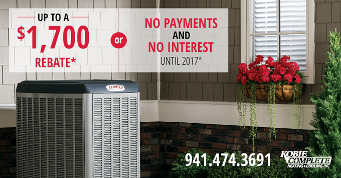 Lennox Rebates Spring 2016