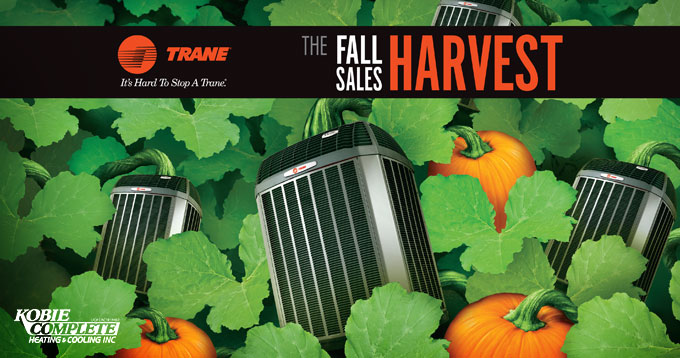 Trane 2015 Fall Sales Harvest Banner