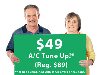 Welcome Back -AC Tune up Offer