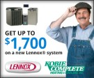 Lennox - $1700 Rebates