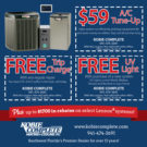 AC Repair Coupon Fall 2014