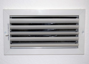 Open Air Conditioning Supply Vent