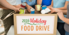 2016 Holiday Food Drive