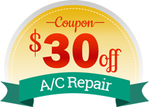 $30 off AC Repair