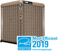 YORK Affinity Air Conditioner ENERGY STAR Most Efficient 2019