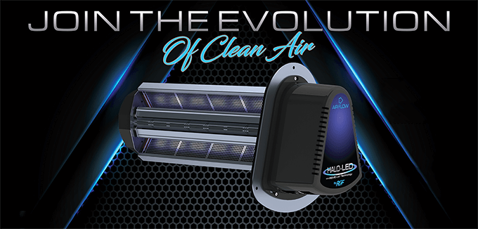 Join the Evolution of Clean Air - Halo LED