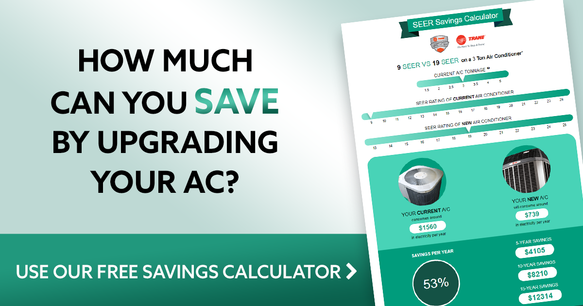 Seer Savings Calculator For Air Conditioners Kobie Complete