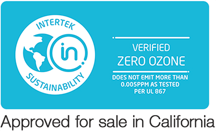 Verified Ozone Free