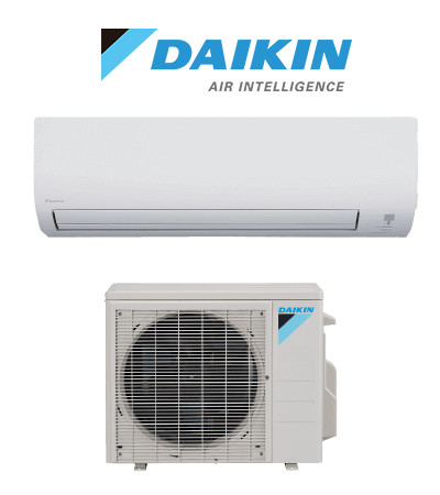 Daikin Ductless mini split indoor and outdoor unit