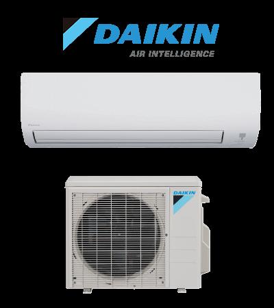 Daikin Ductless mini split indoor and outdoor unit