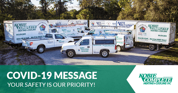 COVID-19 Message - Your Safety is Our Priority!
