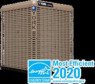 YORK Affinity AC ENERGY STAR Most Efficient 2020