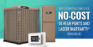 Buy a YORK AC and Get a No-Cost 10-Year Parts and Labor Warranty - $900 value