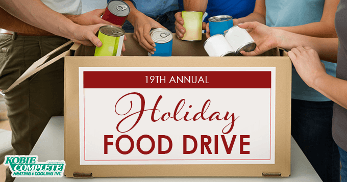 19th Annual Holiday Food Drive 2020 Banner