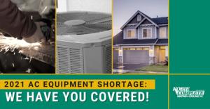 HVAC Equipment Shortage blog post banner